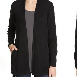 Eileen Fisher NWT  Silk Cotton Cardigan